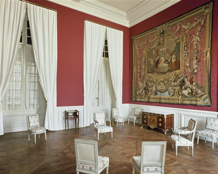 Palais de Compiègne, antichambre de l'appartement double de Prince