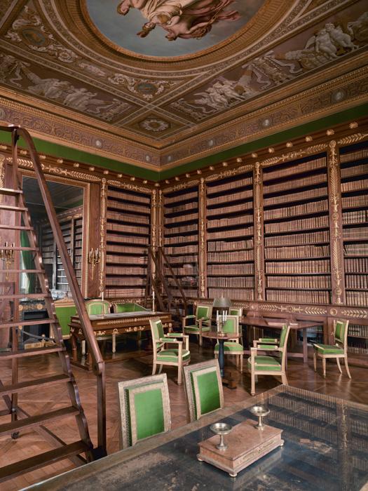 Palais de Compiègne, bibliothèque de l'Empereur