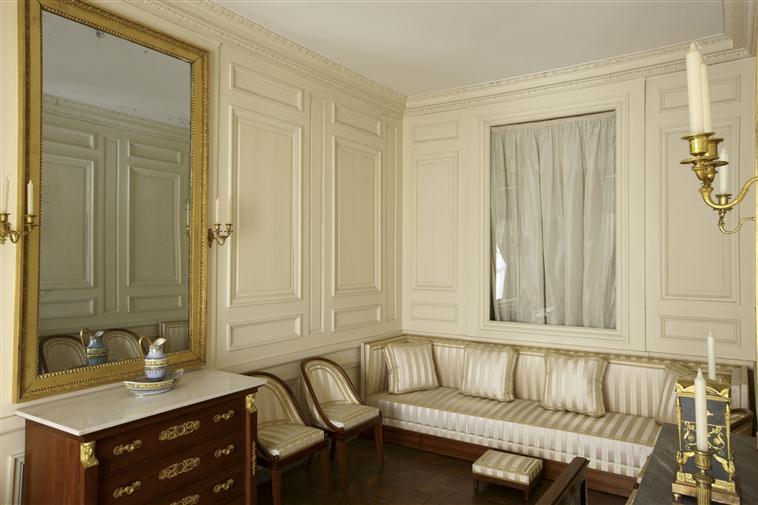 Palais de Compiègne, boudoir du roi de Rome (état restitué : Premier Empire)