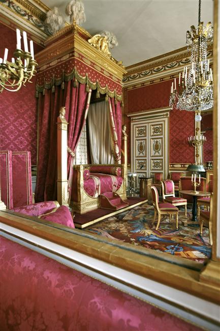 Palais de Compiègne, chambre de l'Empereur (état restitué : Premier Empire)