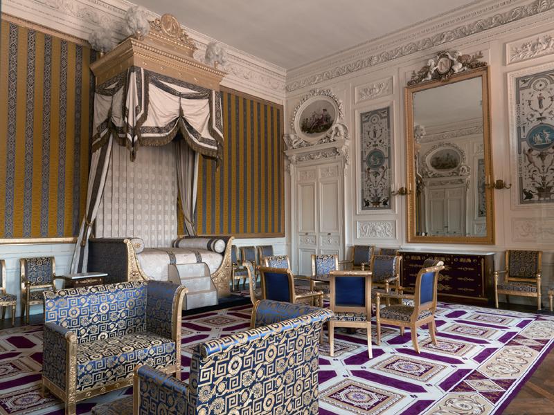 Palais de Compiègne, chambre du roi de Rome (état restitué : Premier Empire)