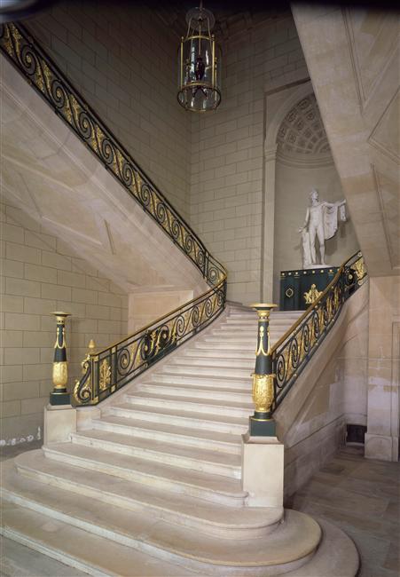 Palais de Compiègne, escalier d'Apollon