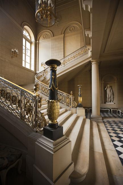 Palais de Compiègne, escalier d'honneur