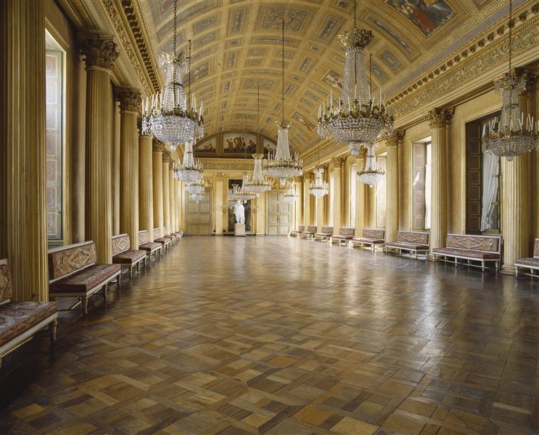 Palais de Compiègne, galerie de bal