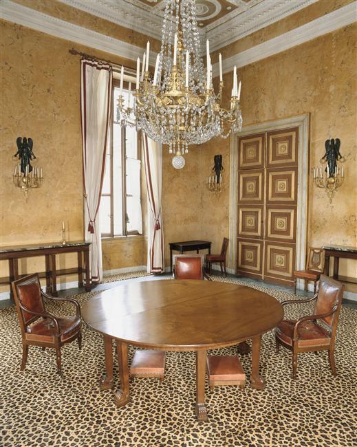 Palais de Compiègne, salle à manger de l'Impératrice (état restitué : Premier Empire)