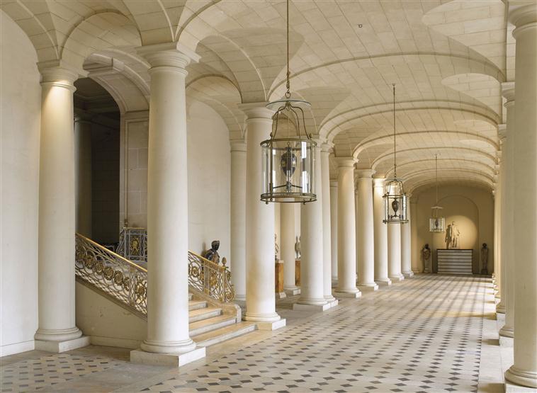 Palais de compiègne salle des colonnes