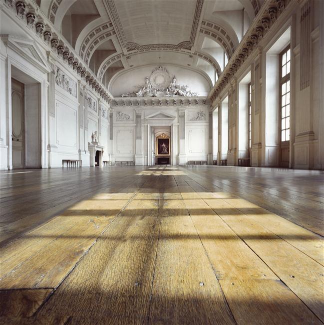 Palais de Compiègne, salle des gardes (décor réalisé sous Louis XVI)
