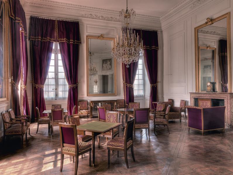 Palais de Compiègne, salon circulaire (état restitué : Premier Empire)