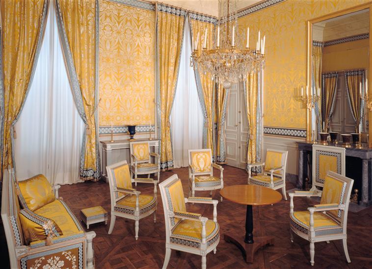 Palais de Compiègne, salon de déjeun (état restitué : Premier Empire)
