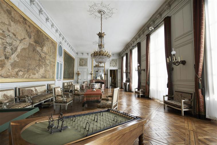Palais de Compiègne, salon des Cartes