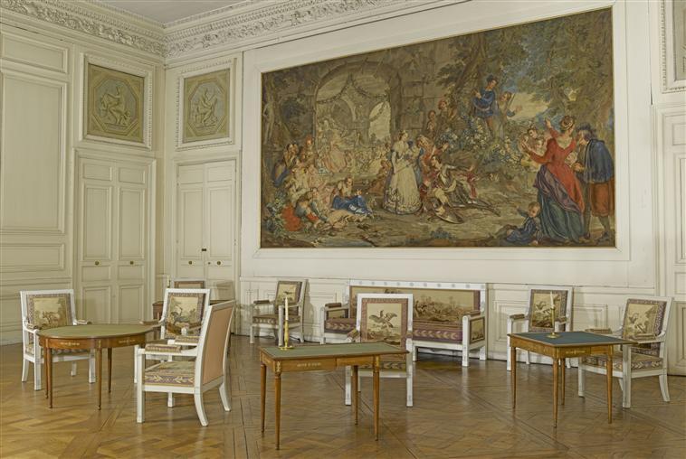 Palais de Compiègne, salon des Noces (état restitué : Premier Empire)