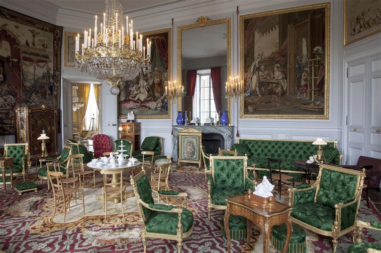 Palais de Compiègne, salon de Thé de l'Impératrice