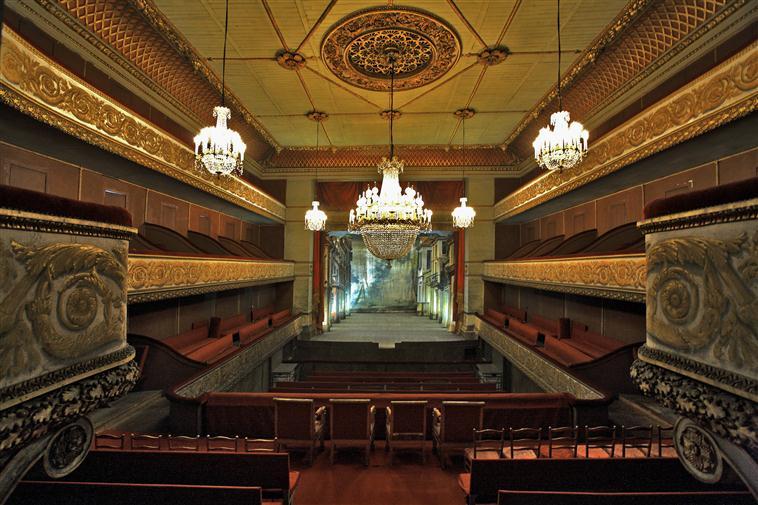 Palais de Compiègne, le petit théâtre Louis-Philippe