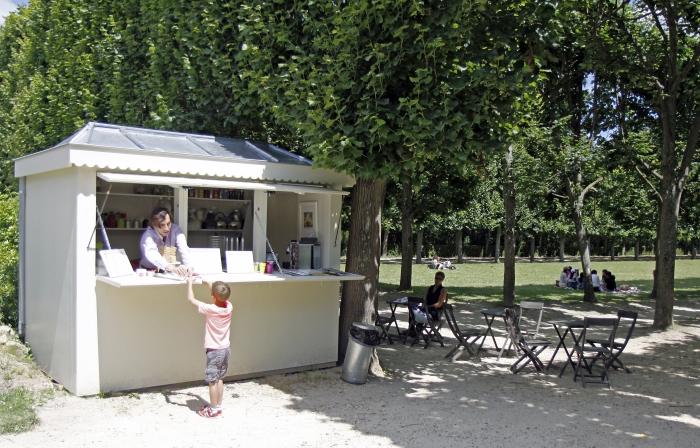 Kiosque à friandises