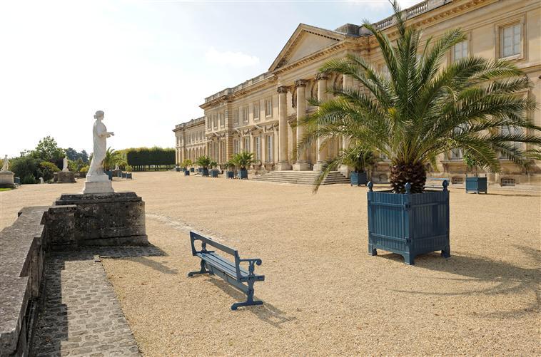 Parc du palais de Compiègne : la terrasse